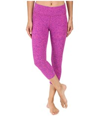 Beyond Yoga Capri Legging Pink Violet Spacedye Women's Capri