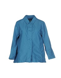 Add Coats And Jackets Jackets Women Turquoise