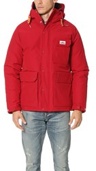 Penfield Apex Down Insulated Parka Red