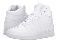 K Swiss Classic Vn Mid White White Women's Tennis Shoes