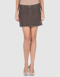 Joie Mini Skirts Khaki