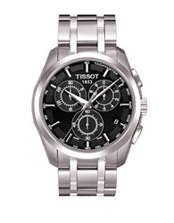 Tissot Mens Couturier Chronograph Watch Silver