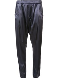 Baja East Drop Crotch Trousers Grey