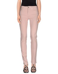 Love Moschino Denim Denim Trousers Women Pink