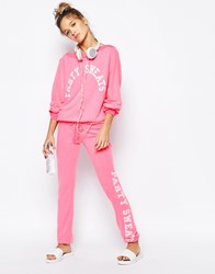 Wildfox Couture Wildfox Essentials Party Sweats Malibu Bottoms Party Girl