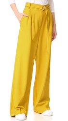 Tibi Wide Leg Pants Pollen
