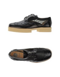 Viktor And Rolf Footwear Lace Up Shoes Women Black