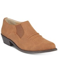 Mojo Moxy Dolce By Latigo Western Ankle Booties Women's Shoes Sand