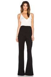 Osklen Light Touch Jumpsuit Black And White