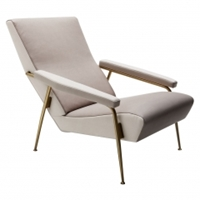 Gio Ponti Leather Armchair