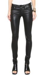 Citizens Of Humanity Racer Leatherette Jeans Black