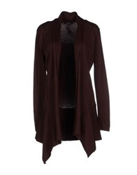 Roccobarocco Cardigans Dark Brown