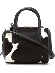 Nina Ricci Mini 'Youkali Cow' Handbag White
