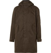 Rag And Bone Division Cotton Blend Parka Green