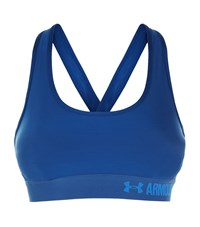 Under Armour Underarmour Mid Intensity Sports Bra Female Navy