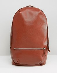 Royal Republiq Leather Encore Backpack Tan