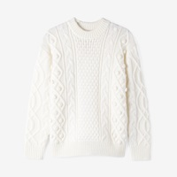 Demy Lee Milena Cableknit Sweater White