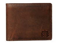 Sts Ranchwear The Foreman Bi Fold Wallet Brown Leather Bi Fold Wallet