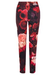 Coast Rouge Print Trousers Multi