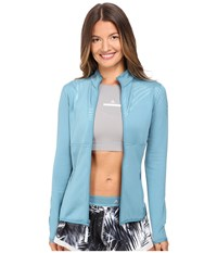 Adidas By Stella Mccartney The Clima Midlayer Ax7119 Harbour Blue Women's Coat