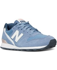 New Balance Women's 696 Summer Utility Casual Sneakers From Finish Line Icarus Shell Pink