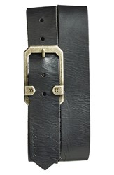 Men's A. Kurtz 'Tyson' Leather Belt Black