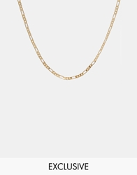 Reclaimed Vintage Chain Necklace Gold Plated