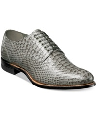 Stacy Adams Shoes Madison Oxfords Men's Shoes Grey