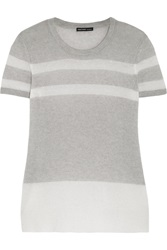 James Perse Striped Cashmere Sweater