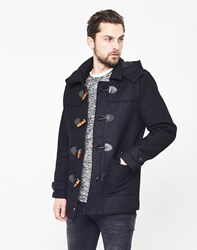 Only And Sons Orville Duffle Coat Black