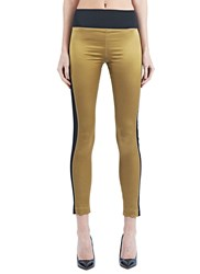 Emiliano Rinaldi High Tech Leggings Gold