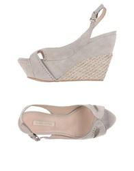 Pura Lopez Sandals Light Grey