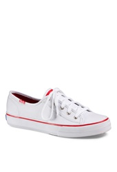 Forever 21 Keds Double Up White Tennis Shoes White Red