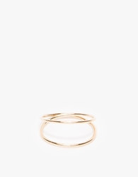 J. Hannah Infinity Midi Ring Yellow Gold