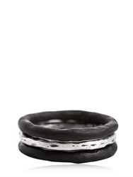 Henson Horn And Silver Ring Set