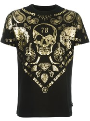 Philipp Plein 'Chipley' T Shirt Black
