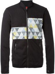 The North Face Triangle Print Panel Jacket Black