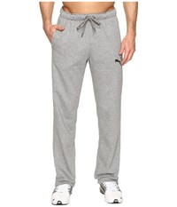 Puma P48 Core Fleece Pants Op Medium Gray Heather Men's Casual Pants