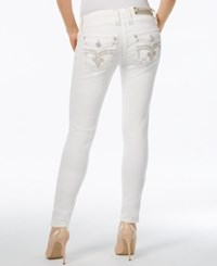 Rock Revival Skinny White Wash Jeans Only At Macy's
