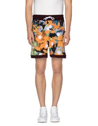 Amaranto Trousers Bermuda Shorts Men Orange