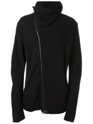 Lost And Found Ria Dunn Funnel Neck Zipped Sweatshirt Black