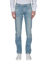 Iceberg Denim Denim Trousers Men Blue