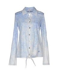 Khujo Shirts Shirts Women Sky Blue