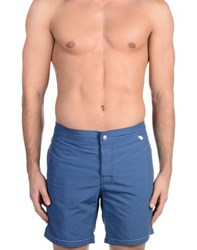 Woolrich Swimwear Swimming Trunks Men Azure