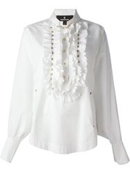 Wunderkind Frilled Shirt White