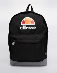 Ellesse Logo Backpack Black