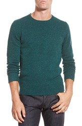 Men's Bonobos Merino Wool Crewneck Sweater Green