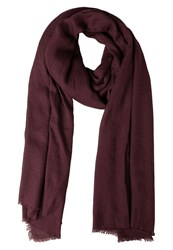 Only Onltine Scarf Fudge Dark Purple