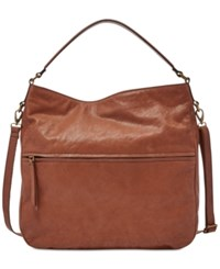 Fossil Corey Leather Hobo Brown