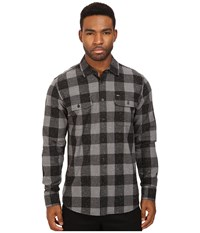 Obey Drifter Woven Charcoal Men's Clothing Gray